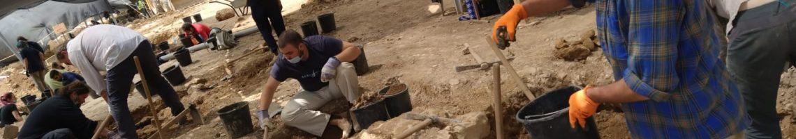 גיוס עובדים במיקור חוץ לרשות העתיקות